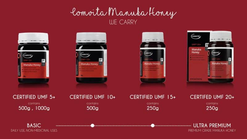 Comvita Manuka Honey We Carry HoneyCity