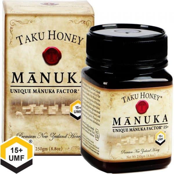 taku manuka honey umf 15+ 250g