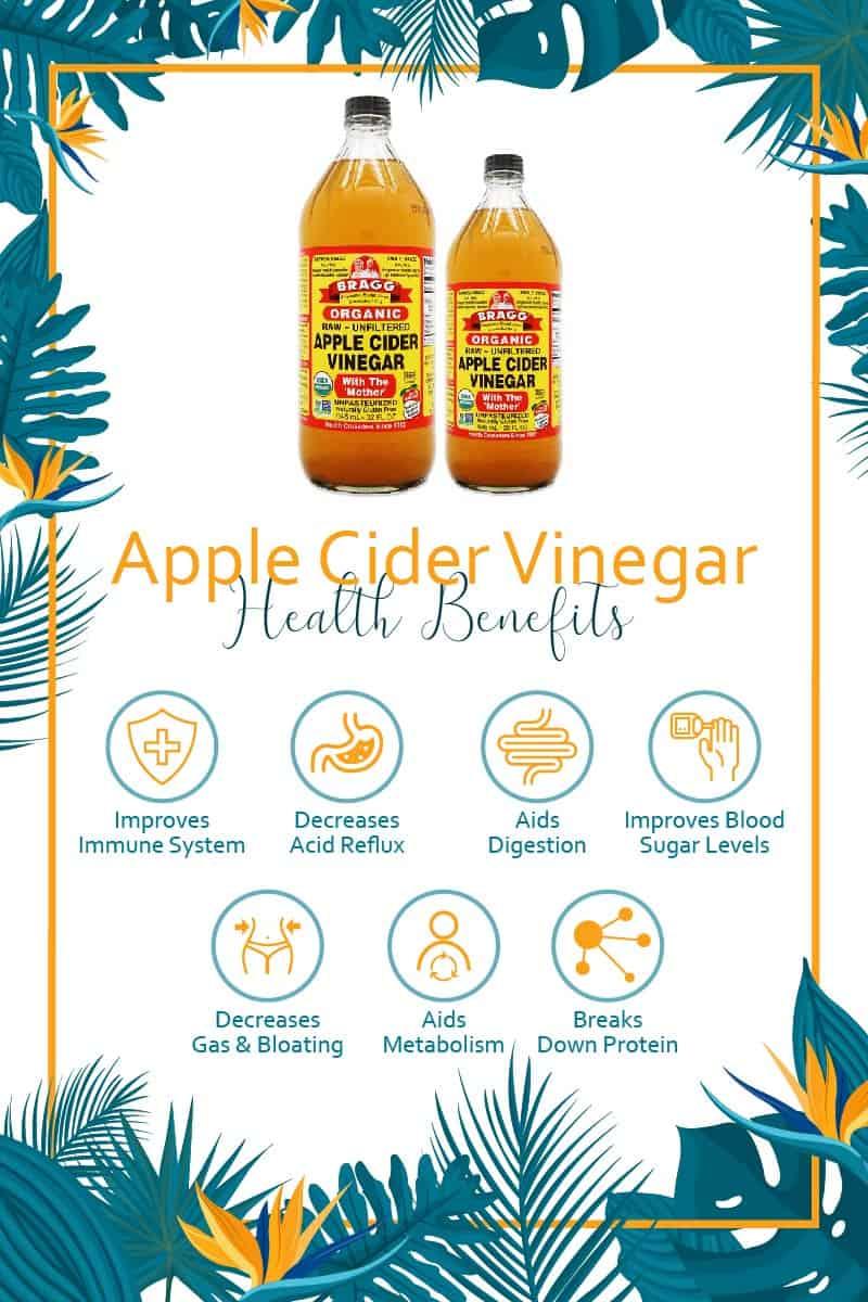 Dr Bragg Apple Cider Vinegar Health Benefits