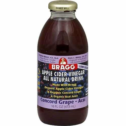 16ozApple Cider Vinegar & Concord Grape Dr Bragg 16 oz