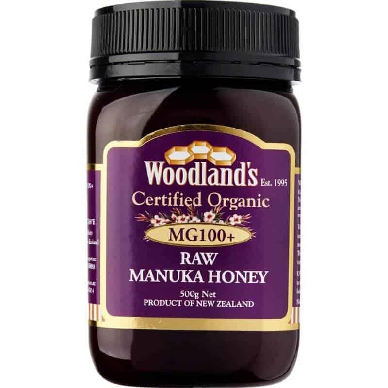 Woodlands Organic Manuka Honey MG100+