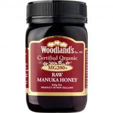 Woodlands Organic Manuka Honey MG200+