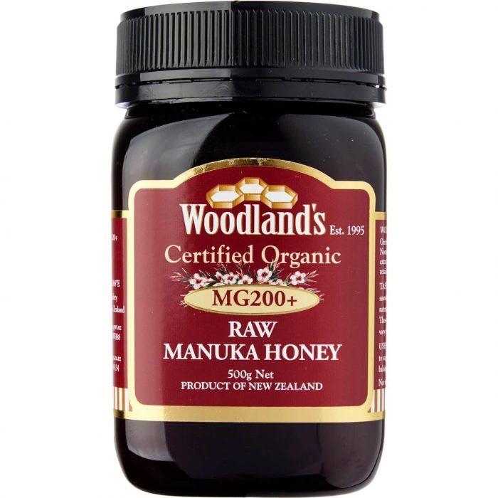 Woodlands Organic Manuka Honey MG200+