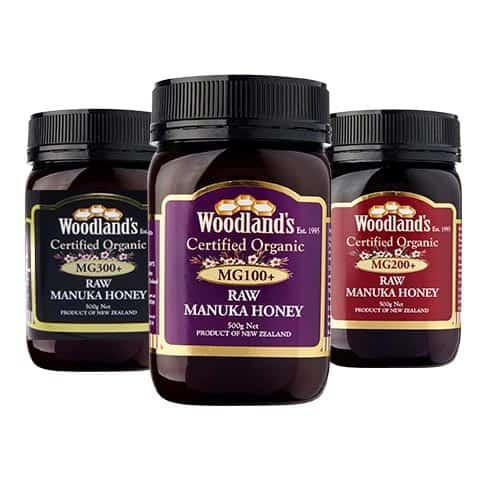 Woodlands Manuka honey