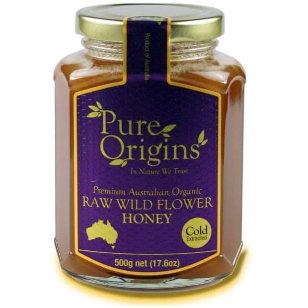 Pure Origins Organic Raw Wild Flower