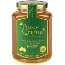 Pure Origins Organic Wild Raw Honey