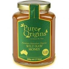 Pure Origins Organic Wild Raw Honey