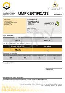 Vitabeez Certification 2