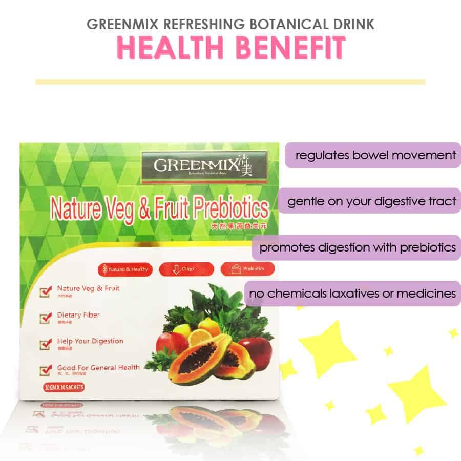 GreenMix Refreshing Botanical Drink- Health Benefit