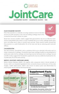 Glucosamine Nutrition Facts