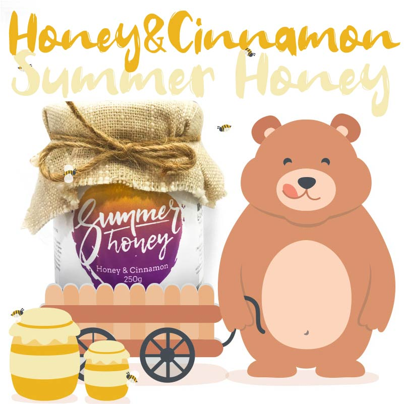 Summer Honey - Authentic Artisan honey from Thailand - Honey & Cinnamon