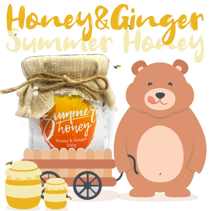 Summer Honey - Authentic Artisan honey from Thailand - Honey & Ginger