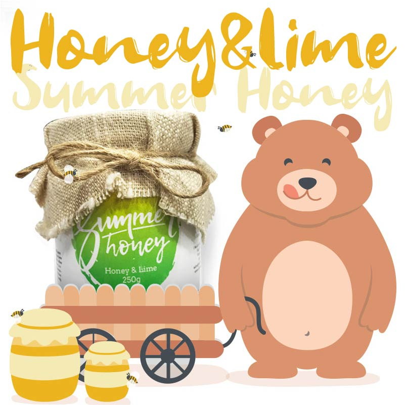Summer Honey - Authentic Artisan honey from Thailand - Honey & Lime