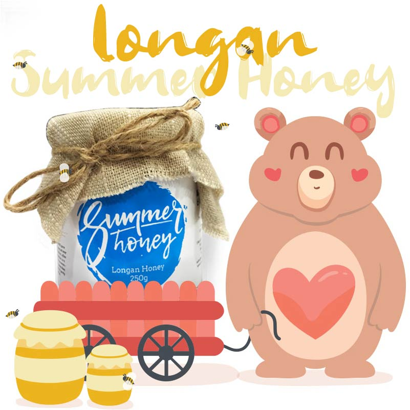 Summer Honey - Authentic honey from Thailand - Longan Honey