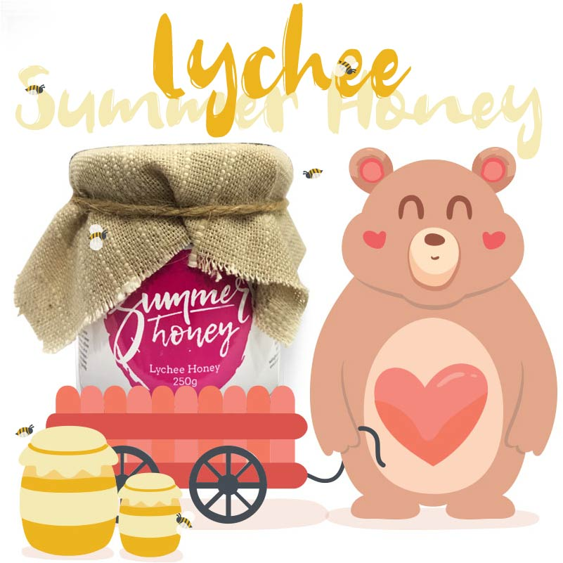 Summer Honey - Authentic honey from Thailand - Lychee Honey