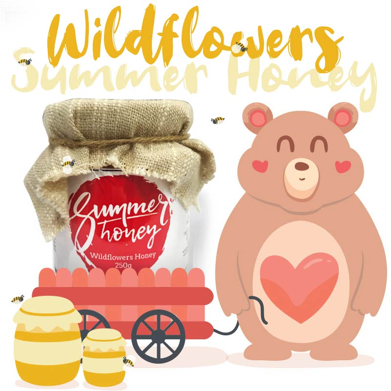 Summer Honey - Authentic honey from Thailand - Wildflower Honey