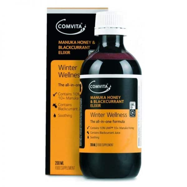 Comvita Winter Wellness Manuka Honey and Blackcurrant Elixir