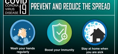 Fight coronavirus by washing hands, boosting immunity, stay home when you are sick
