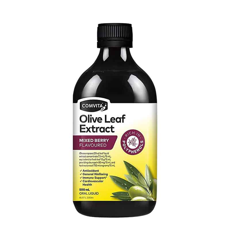 Comvita Olive Leaf Extract Mixed Berry Flavoured 500ml