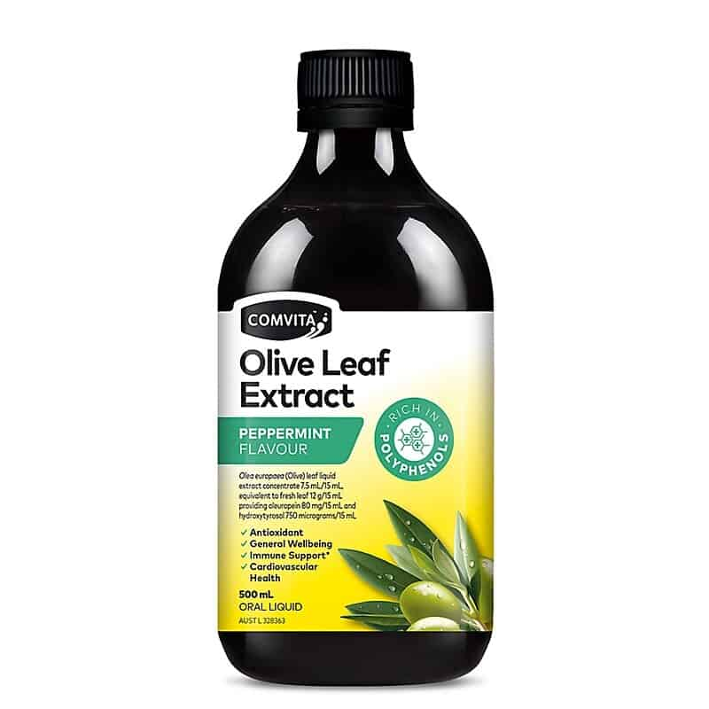 Comvita Olive Leaf Extract-Peppermint Flavour 500ml 2