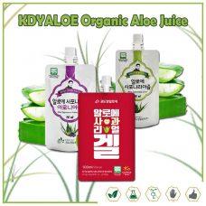 KDYALOE Organic Aloe Juice Drinkable Konjac Jelly