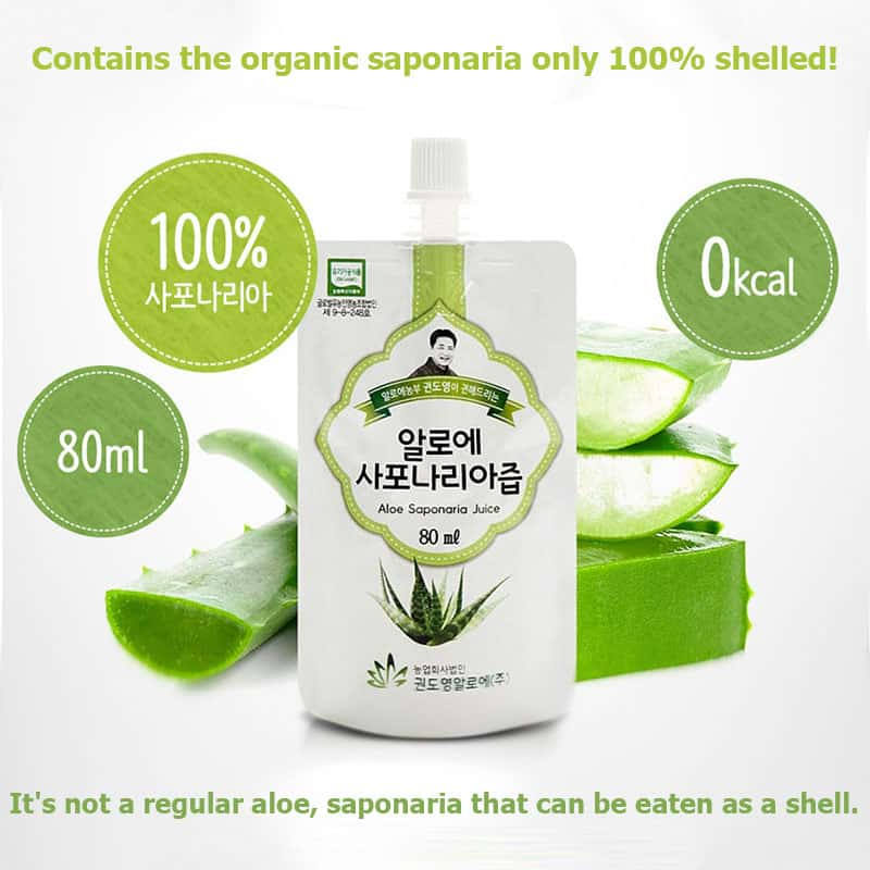 KDYALOE Organic Aloe Saponaria, even better and nutritious than aloe vera