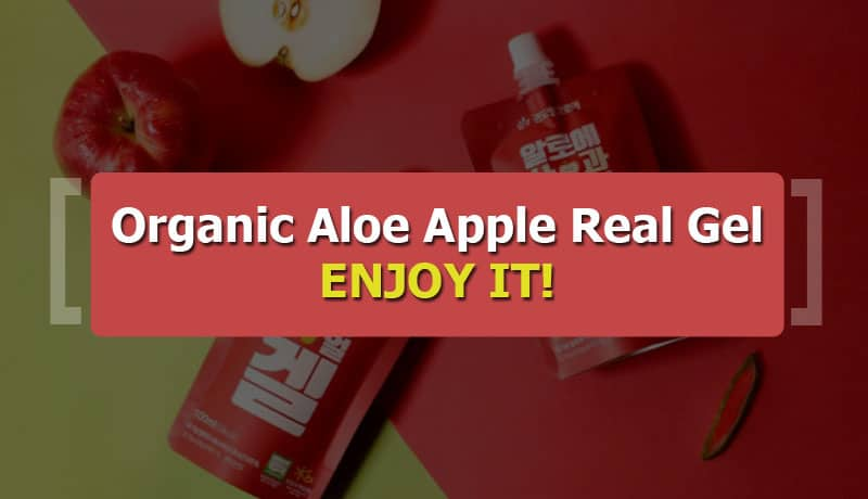 KDYALOE Organic Aloe Apple Real Gel 100ml - 05